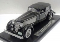 1:43 Duesenberg SJ Town Car Chassis 2405 by Rollson for Mr. Rudolf Bauer 1937 fully closed (black)