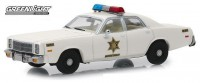 "1:43 PLYMOUTH Fury ""Hazzard County Sheriff"" 1977 (из к/ф""The Dukes of Hazzard"")"