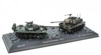 """1:72 набор Type 59 (Т-54) и M41 """"Walker Bulldog""""  Сражение при Dong Ha Вьетнам 1972"""