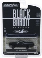 1:64 FORD Ranchero Pick-Up 1972 Black