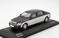 1:43 MAYBACH 62 2009 Metallic Blue/Silver