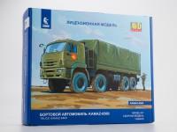 1:43 Сборная модель КАМский грузовик-6560 бортовой