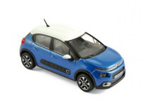 1:43 CITROËN C3 2016 Cobalt Blue/White