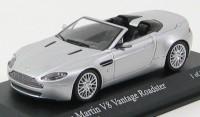 1:43 ASTON MARTIN Vantage Spyder 2008 Silver