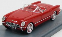 1:43 CHEVROLET Corvette C1 Convertible 1953 Red