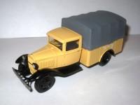 1:43 Горький-АА пикап с тентом грузовое такси