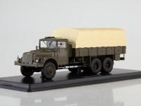 1:43 Tatra-111R бортовой с тентом,хаки