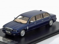 1:43 DAIMLER Super Eight Wilcox Limousine (X358) 1995 Blue