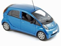 1:43 PEUGEOT Ion 2010  Ocean Blue Metallic