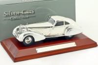 1:43 MERCEDES-BENZ 500K Autobahn-Kurier 1935 Silver