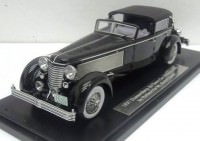1:43 Duesenberg SJ Town Car Chassis 2405 by Rollson for Mr. Rudolf Bauer 1937 back closed (black)