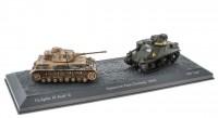 "1:72 набор Pz.Kpfw. IV Ausf. G и M3 ""Lee""Тунис Северная Африка 1943"