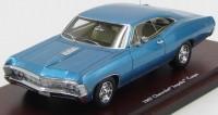 1:43 Chevrolet 1967 Impala 2 Door Coupe (marina blue)