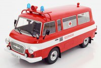 "1:18 BARKAS B1000 Bus ""Fire Brigade Ambulance"" 1965"