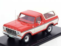 1:43 FORD Bronco 4x4 1978 Red/White