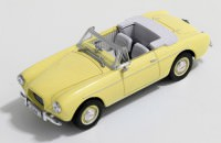 1:43 VOLVO P1900 Sport Convertible 1955 Light Yellow