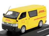 1:43 TOYOTA HI-ACE DHL 2008 (фургон)