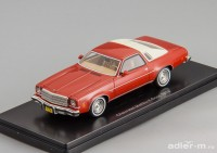 1:43 CHEVROLET Malibu Coupe 1974 Red/Light Beige
