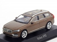 1:43 VOLVO V90 2016 Twilight Bronze
