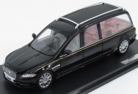 1:43 JAGUAR XJ Wilcox Eagle (X351) Hearse (катафалк) 2014 Black