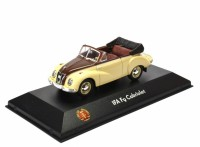 1:43 IFA F9 Cabriolet 1952 Beige/Maroon
