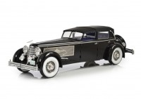 1:18 Duesenberg SJ Town Car Chassis 2405 by Rollson for Mr. Rudolf Bauer 1937 (закрытый)