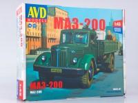 1:43 Сборная модель МАЗ-200 бортовой
