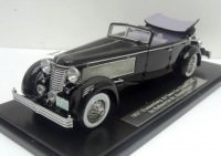 1:43 Duesenberg SJ Town Car Chassis 2405 by Rollson for Mr. Rudolf Bauer 1937 fully open (black)