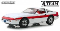 "1:18 CHEVROLET Corvette C4 1984 (из телесериала 'Команда А"")"