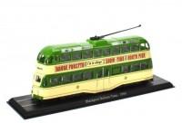 1:76 трамвай Blackpool Balloon Tram 1960 Green/Beige