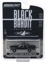 """1:64 CHEVROLET Caprice """"Black Bandit Police"""" 1980"""