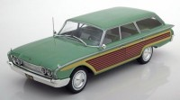 1:18 FORD Country Squire 1960 Metallic Green/Wood