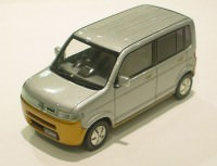 1:43 Honda THAT'S 2002 Silver/Orange