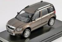 1:43 Škoda Yeti (кроссовер 4х4) 2009 Brown Metallic