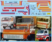 1:43 набор декалей полосы для Камский грузовик