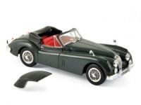 1:43 JAGUAR XK140 Cabriolet 1957 Dark Metallic Grey