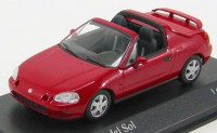 1:43 HONDA CIVIC DEL SOL 1993 RED