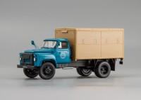 1:43 Автомобиль-фургон ГЗСА-3704 на шасси 52-01 1969