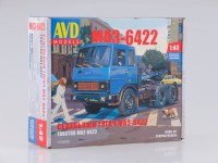 1:43 Сборная модель МАЗ-6422 ранний