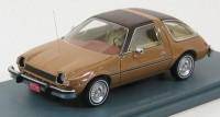 1:43 AMC PACER 1975 Brown/beige metallic
