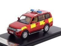 1:43 MITSUBISHI Pajero 4х4 UK Derbyshire Fire & Rescue (пожарно-спасательный) 2015