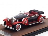 1:43 ROLLS ROYCE Phantom II Brewster Newmarket Permanent Sport Sedan (открытый) 1932 Black/Red