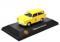 "1:43 TRABANT 601 Universal ""Deutsche Post"" 1990 Yellow"