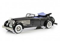 1:18 Duesenberg SJ Town Car Chassis 2405 by Rollson for Mr. Rudolf Bauer 1937 (с опущенными окнами)