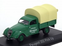 "1:43 PEUGEOT 202 Pick-up ""Garage Peugeot"" 1947 Green/Creme"