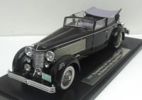 1:43 Duesenberg SJ Town Car Chassis 2405 by Rollson for Mr. Rudolf Bauer 1937 side window up (black)
