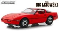 "1:18 CHEVROLET Corvette C4 1985 машина Ларри Селлерса (из к/ф ""Большой Лебовски"")"