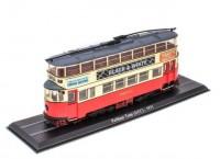 1:87 трамвай Feltham Tram (UCC) 1931 Red/Beige