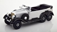 1:18 MERCEDES-BENZ G4 (W31) 1938 Light Grey/Black