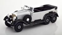 1:18 MERCEDES-BENZ G4 (W31) 1938 Light Grey/Black